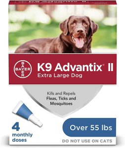 Bayer K9 Advantix II Flea Prevention
